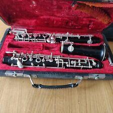 More details for vintage wooden oboe serial number j004