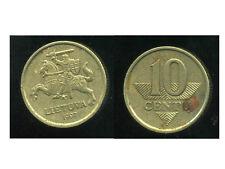 LITUANIE 10 centu 1997  ANM