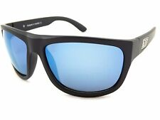 Dirty Dog Polarised ESKIMO Sunglasses Black Over Green / Grey 53428