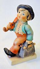 "Hummel Goebel Figurine – Merry Wanderer #11 2/0 TMK5 – 4.25"" tall"