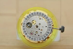 Miyota 8215 automatic movement 3H date gold color *Direct Replacement of DG2813