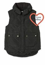 CR LOVE ❤️  NEW! COUNTRY ROAD PUFFER VEST IN BLACK SIZE XS (8) SUIT S (10)