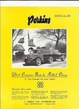 BEDFORD 'O' SERIES WITH PERKINS DIESEL CONVERSION SALES BROCHURE 1952 1953