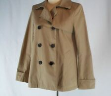 Everlane Cotton Khaki Tan Swing Trench Coat Jacket NEW M Medium Womens