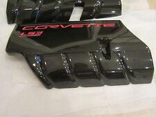 C6 Corvette Carbon Fiber Fuel Rail Covers LS2 LS3 or LS7 Versions