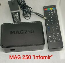 "MAG 250 HD IPTV Set Top Box - Internet Protocol TV Receiver , Original ""Infomir"""
