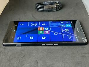 Microsoft Lumia 950 XL Black 32GB Unlocked Windows Mobile Smartphone - Grade B