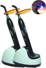 2PCS 9W 2200mW Dentist Dental Blue Led Cure Light Lamp Cordless Wireless