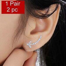 Silver Filled Crawler Climber Ear Cuff Arrow Earrings Jewellery Online for Women