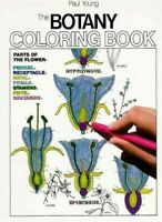 Botany Coloring Book, Paperback by Young, Paul G., Brand New, Free P&P in the UK
