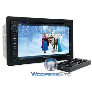 "SOUNDSTREAM VR-651B CAR VIDEO 7"" DVD CD MP3 USB BLUETOOTH EQUALIZER STEREO NEW"