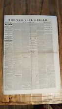 HISTORIC May 15, 1865 The New York Herald Civil War Era Newspaper