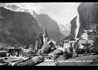 LAUTERBRUNNEN mit STAUBBACH (SUISSE) HOTEL , VILLAS & EGLISE en 1963