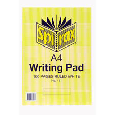 Spirax A4 Writing Pad 100 Pages White 56411