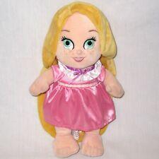 "Disney Parks Babies 12"" Rapunzel Plush Doll Baby Princess Stuffed Toy Tangled"