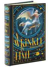 *New Sealed Leatherbound* A WRINKLE IN TIME TRILOGY by Madeleine L'Engle