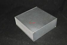 Silver Aluminum PCB instrument Box Enclosure DIY Project 110*110*40mm; US Stock