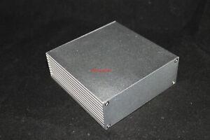 Silver Aluminum PCB instrument Box Enclosure DIY Project 110*110*40mm; US Stock