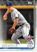 2019 Topps Opening Day #191 Joey Wendle Tampa Bay Rays Baseball Card
