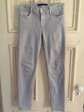 J Brand Light Gray Skinny Jeans Skinny Crop OYS Size 25