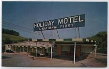 Holiday Motel R.D. 6 Hwy 30, Irwin,PA Postcard