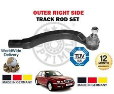 FOR ROVER 75 MG ZT MGZ TT 1999-2005 New RH OUTER RIGHT TIE TRACK ROD END SIDE