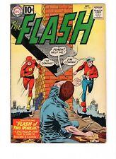 The Flash #123, Sept 1961 7.5 Key Issue, First Earth II, Origin SA & GA Flash