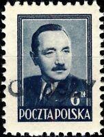 POLOGNE / POLAND 1950 GROSZY O/P T.4 (LUBLIN 1b) Michel 624 MOGNH **