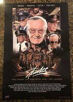 Limited Edition Stan Lee Cameo Color Litho by Mark Raats NOT SIGNED By Stan Lee