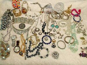 Very Nice Brighton Jewelry Lot Necklace Ring Bracelet Charm Earrings Watch ++