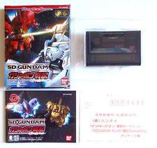 SD GUNDAM Gashapon Senki Episode One Bandai Wonderswan Reg Jap Japan