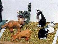 More details for langley models kit l26 o gauge 6 assorted cats