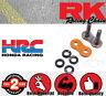 RK Connection Link - Rivet Link - Solid - ORANGE 530GXW for Triumph Sprint
