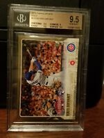 2015 Topps Update GOLD Kris Bryant Cubs Rookie Card #US242 BGS 9.5 Gem Mint
