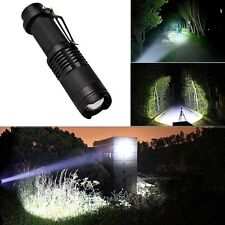 5000Lm Ultrafire Zoomable Cree Xm L T6 Led Flashlight Torch Super Bright Light