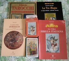 Le Tre Magie + Astra Guida + 52 carte Sibille + il libro dei tarocchi +Zodiaco
