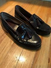 Bostonian Tassel Loafers Burgundy Boys Size 7M
