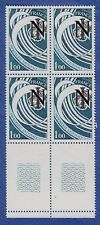 U50* Timbres France Neuf**MNH TBE Bloc de 4 + MARGE (1978 n°2014)