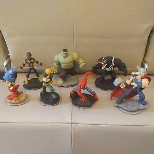 Lot de 7 Figurines Marvel Disney Infinity 2.0