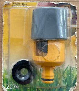 Hozelock 2274 Indoor Mixer Tap Hose Connector Adaptor Multi Tap SHELF WARE
