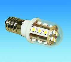E14 Pigmy Lamp 16 LED Warm White Bulb 230 Volt