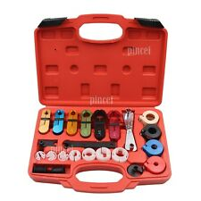 22pcs A/C Air Conditioning Fuel Line Disconnect Tool Set with Carry Case for Car