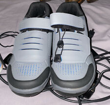 Shimano AM9 / SPD Bicycle Cycle shoes gray/blue eur 40 US 9 With Cleats