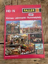 Faller Heft 839 Kirmes Jahrmarkt Rummelplatz (220)
