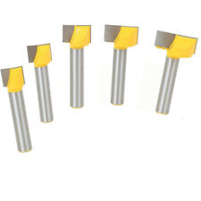 1PC 1/2 *1-1/4  Shank T-slot Wood Router Bit Slotting Woodworking Milling Cutter
