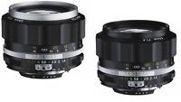 New Model VOIGTLANDER NOKTON 58mm f1.4 SL II S  BLACK or SILVER Nikon AIS Lens