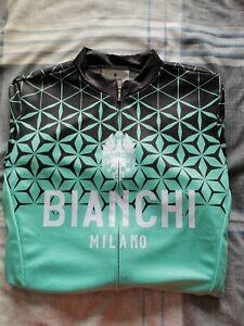 Bianchi Conca Short Sleeve Jersey - Celeste - Men's - Small