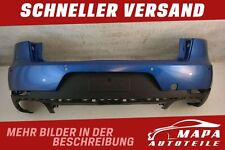 Porsche Macan Bj. ab 2014 Stoßstange Hinten mit Diffusor Original Versand Blau