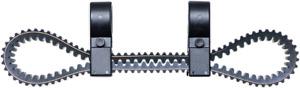 Moose Utility Black UTV Side by Side Spare Drive Belt Holder 11-20 Polaris RZR