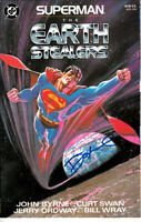 Dennis Denny O'Neil signed autographed auto Superman Earth Stealers comic book